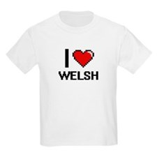 I love Welsh digital design T-Shirt