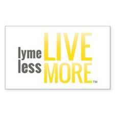 Lyme Less Live More Decal