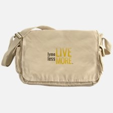 Lyme Less Live More Messenger Bag