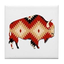 Cute Native american religions Tile Coaster