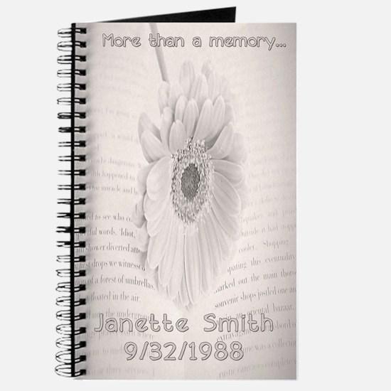 Loving memory Journal