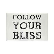 Follow Bliss Rectangle Magnet