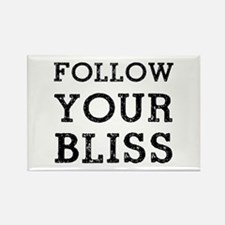 Follow Bliss Rectangle Magnet