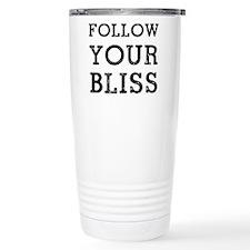 Follow Bliss Stainless Steel Travel Mug