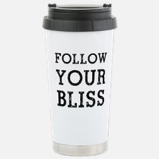 Follow Bliss Stainless Steel Travel Mug