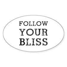 Follow Bliss Decal