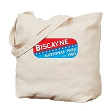 Biscayne National Park (red/b Tote Bag