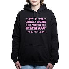 Great Moms Get Promoted Women's Hooded Sweatshirt