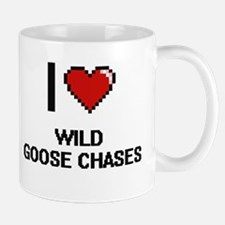I love Wild Goose Chases digital design Mugs
