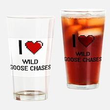 I love Wild Goose Chases digital de Drinking Glass