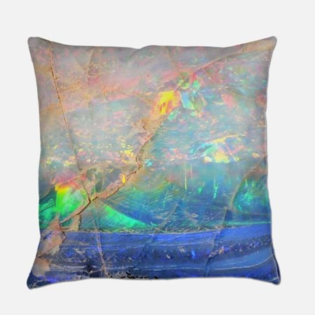 Opal Gemstone Everyday Pillow