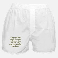 Eye On The Prize Dream BIG Design Boxer Shorts