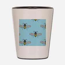 antique bees Shot Glass