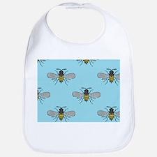 antique bees Bib