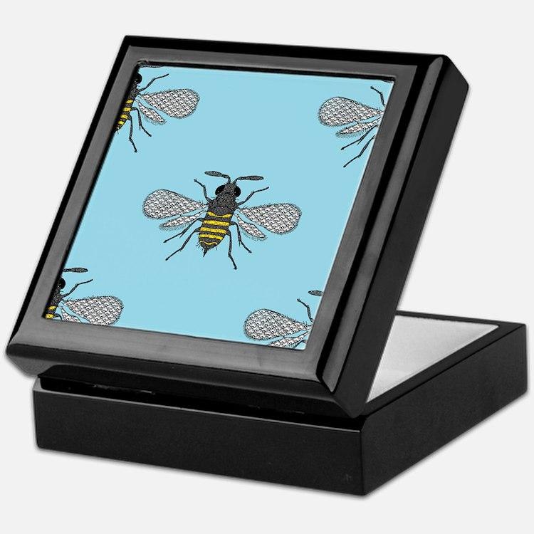 antique bees Keepsake Box