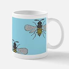 antique bees Mugs