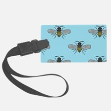 antique bees Luggage Tag