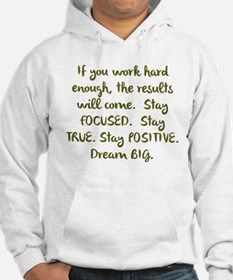 Eye On The Prize Dream BIG Design Hoodie