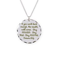 Eye On The Prize Dream BIG Design Necklace