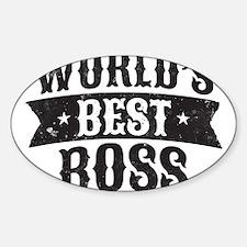 World's Best Boss Decal