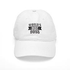 World's Best Boss Baseball Baseball Cap