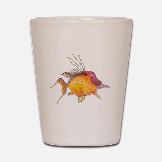 Hogfish Shot Glass