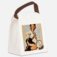 Pin Up: Cowgirl ! Canvas Lunch Bag