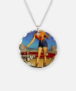 Pin Up: Cowgirl ! Necklace