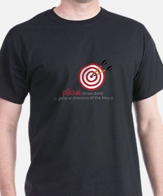 Throw Darts T-Shirt