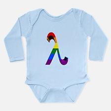 3D Rainbow Lambda Body Suit