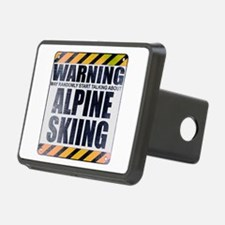 Warning: Alpine Skiing Hitch Cover