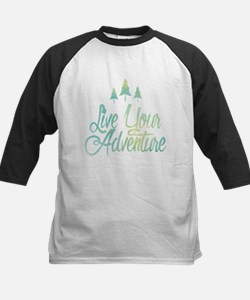 Live Your Adventure Baseball Jersey