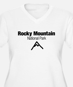 Rocky Mountain National Park (Doodle) T-Shirt