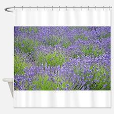 Unique Purple floral Shower Curtain