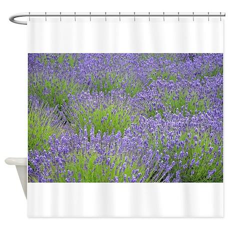 Unique Lavender Shower Curtain