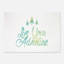 Live Your Adventure 5'x7'Area Rug