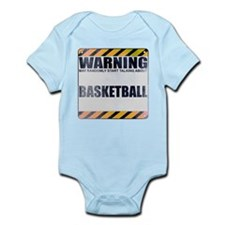 Warning: Basketball Infant Bodysuit
