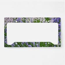 Funny Lavender License Plate Holder