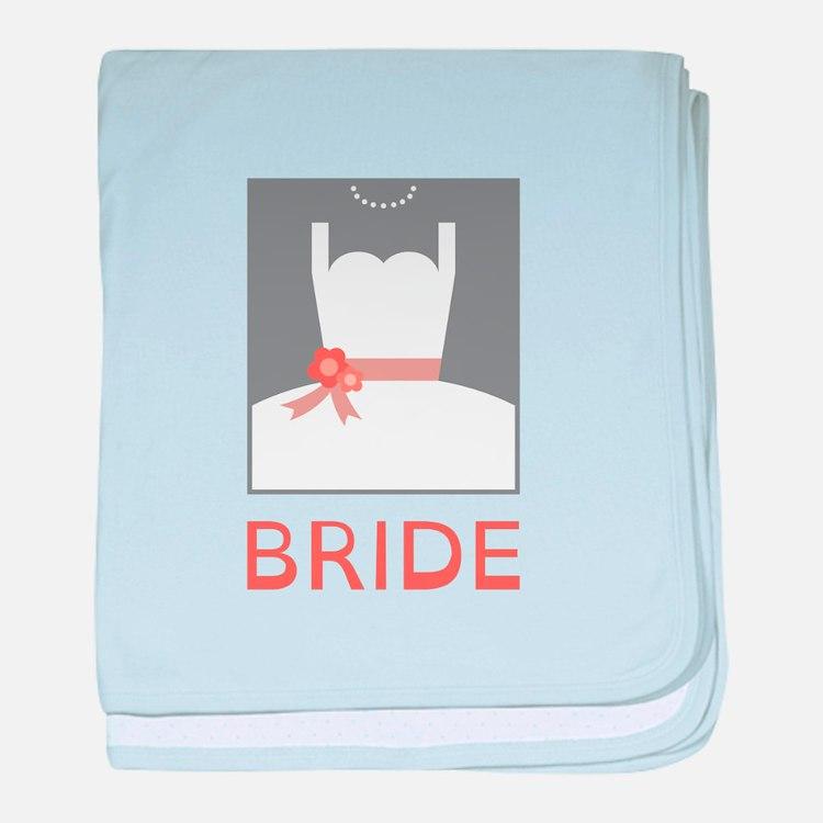 Bride baby blanket