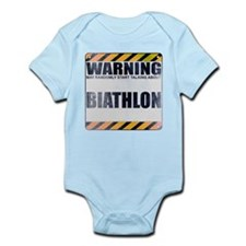 Warning: Biathlon Infant Bodysuit