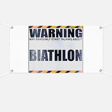 Warning: Biathlon Banner