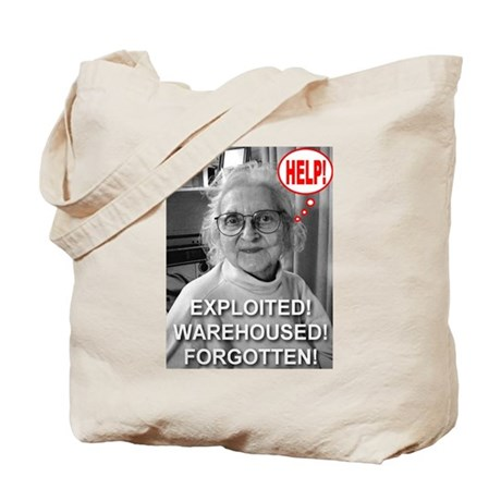 Help! Exploited! Warehoused! Tote Bag