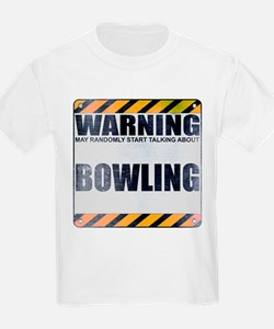 Warning: Bowling T-Shirt