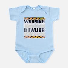 Warning: Bowling Infant Bodysuit