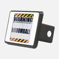 Warning: Broomball Hitch Cover