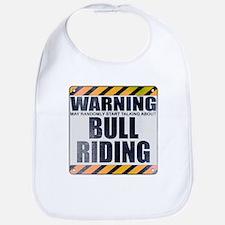 Warning: Bull Riding Bib