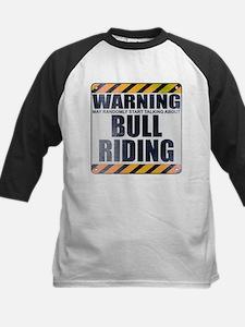 Warning: Bull Riding Tee