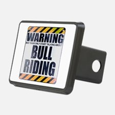 Warning: Bull Riding Hitch Cover