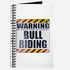 Warning: Bull Riding Journal