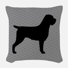 Wirehaired Pointing Griffon Woven Throw Pillow